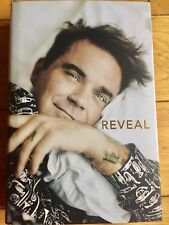 ROBBIE WILLIAMS SIGNED BOOK REVEAL- PROOF Of AUTHENTICITY AND COA CERTIFICATE