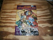 Trade paperback Dragonlance Chronicles book I Dragons of Autumn Twilight nm 9.4