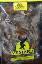 Fly Tying Veniard Male RingNeck Pheasant Brown Neck Feathers