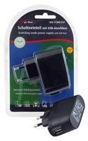 3 x Reisenetzteil / Handyladegerät mit USB Anschlus 5V / 1000mA EuP