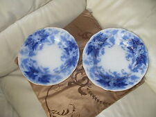 Unboxed Bowls Flow Blue Transfer Ware Pottery