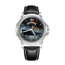 RMS TITANIC WHITE STAR LINE MENS GENTS WRIST WATCH GIFT BIRTHDAY GIFT ENGRAVED