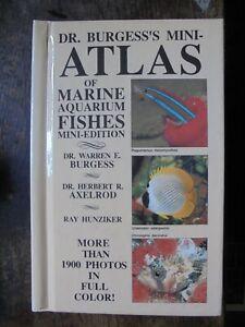 ATLAS OF MARINE AQUARIUM FISHES by Burgess