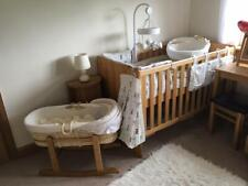 Baby Adjustable Cot / Toddler Bed
