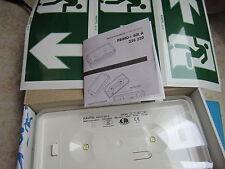 LOT de 10 BLOC SECOUR  BAES D'EVACUATION à LED's  KAUFEL  226 220