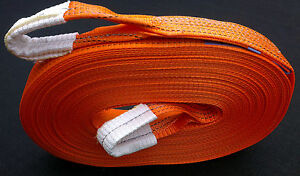 NEW 4x4 HEVY DUTY RECOVERY WINCH TOW ROPE STRAP STROP 30M (98 Feet) UK MADE