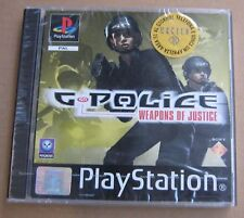 Videogame G-POLICE Weapons of Justice PSX PSONE SEALED
