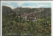 1958 VECCHIA CARTOLINA CASTIONE DELLA PRESOLANA COLONIA DALMINE BERGAMO BERGAMAS