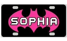 BATGIRL Personalized Kids MINI LICENSE PLATE Any Name Bicycles Door Sign
