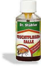 Fruchtfliegenfalle 15 ml von Dr. Stähler - Fliegen Fruchtfliegen Falle