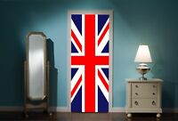 Door Mural United Kingdom Union Jack View Wall Stickers Decal Wallpaper 104