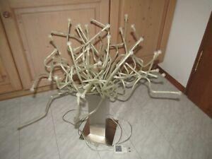 IKEA Stranne LED Tischlampe Medusa Lampe Edelstahlfuß biegsame Arme Top Zustand