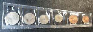 1979 Australian 1, 2, 5, 10, 20, 50 cents set High Grade
