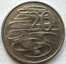 Australia 20 cents coin 2000