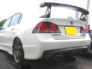 Carbon fiber MUG style rear wing spoiler fit Honda 2006 Civic FA1 type-R FD2