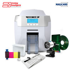 Magicard Rio Pro Complete Single Sided ID Printer System for MAC & PC with Ca...