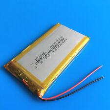 1200mAh 3.7V Li Po Rechargeable Battery Cells 404073 for GPS PSP Camera Speaker
