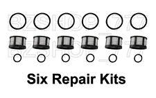 Six Fuel Injector Repair Rebuild Kits fits 3.0 V6 Nissan