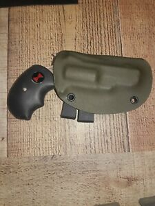 Holster For NAA .22 Sidewinder Kydex Hybrid Leather  For SW// SWC 1.5 In Barrel