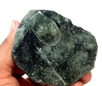 ULTRA CLEAN APOPHYLLITE CRYSTAL ON BLUE CHALCEDONY  mineral specimen  # sep-j39