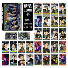 30pcs KPOP EXO LOMO Card THE WAR Photocard KAI Poster CHEN Photo XIUMIN Picture