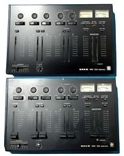 Konvolut 2 Stück UHER MIX 700 analoges Stereo Mischpult mit VU-Metern