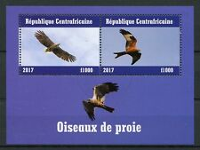 Central African Republic 2017 CTO Birds of Prey 2v M/S I Raptors Stamps