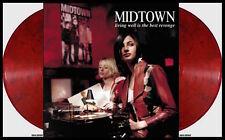MIDTOWN Living Well Is The Best Revenge 2xLP on RED SMOKE VINYL New SEALED