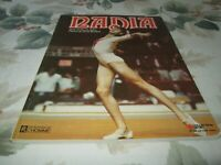 NADIA COMANECI OLYMPICS 1976.97 PAGES.BY BENOIT AUBIN PHOTO DENIS BRODEUR