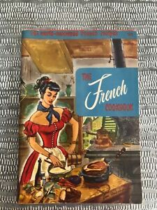 Vintage 1965 Culinary Arts French Cookbook