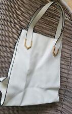Topshop women's tote shopper handbag white large