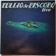 TULLIO DE PISCOPO - Live - LP VINYL 1981 NEAR MINT CONDITION UNPLAYED
