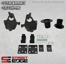 """Street Edge 07-13 Silverado/Sierra 1500 2WD/4WD 4"""" Front & 7"""" Rear Lowering Kit"""