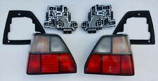 VW GOLF MK2 G60 REAR TAIL LIGHTS FIFFT MHW RÜCKLEUCHTEN RED WHITE HELLA rare