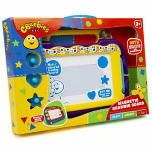 Cbeebies BBC Magnetic Drawing Scribble Doodle Board Etch A Sketch Kids Toddlers