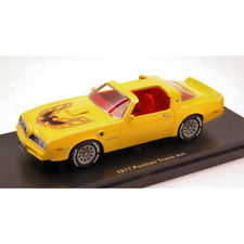 PONTIAC TRANS AM 1977 YELLOW 1:43 Auto World Auto Stradali Die Cast Modellino