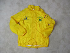 VINTAGE Champion Ricoh Japan Bowl Jacket Adult Small Yellow Football Coat 80s *