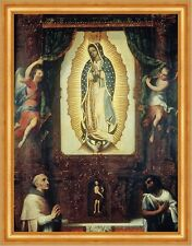 Altarpiece of the Virgin of Guadalupe Miguel Cabrera Sankt Maria B A3 02894
