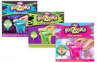 Goozooka Slime Kit - Make your own slime Glitter Glow in the dark Galaxy Science