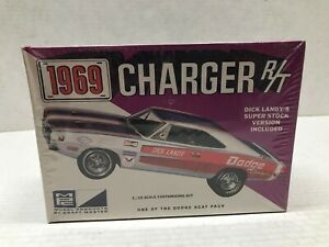 MPC 1/25 SCALE 1969 CHARGER R/T 'DICK LANDY'S SUPER STOCK' SEALED MODEL KIT