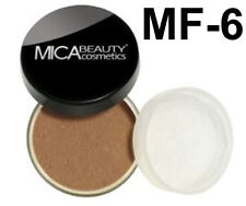 Mica Beauty Foundation Powder MF-6  Cream Caramel  + Free Nail File