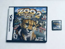 Zoo Tycoon 2 DS Nintendo DS 2006 Video Game