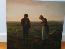"""Original Oil Painting on Canvas. Copy of """"Angelus"""" Millet"""