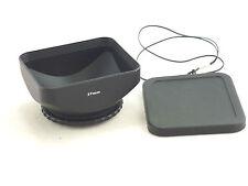 Caméscope 37mm DV Pare-soleil,Cache Lentille et Capuchon sécurité pour Sony,