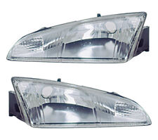 Headlights Front Lamps Pair Set for 95-97 Dodge Intrepid Left & Right (Fits: Dodge Intrepid)
