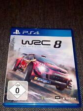 WRC 8 The Official Game für Playstation 4 USK0 Rallye Rennspiel PS4 Top Zustand