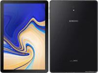 Samsung Galaxy Tab S4 64GB, Wi-Fi + Cellular (AT&T Unlocked), 10.5 in - Black A