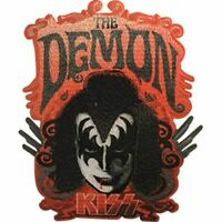 KISS - THE DEMON - EMBROIDERED PATCH - BRAND NEW - MUSIC BAND 4628