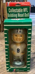 New in Box Twins Enterprises Dallas Cowboys NFL Bobbing Head Doll Bobble Head