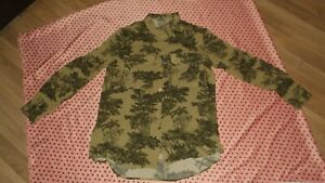 Ladies Safari Print Shirt Size 12